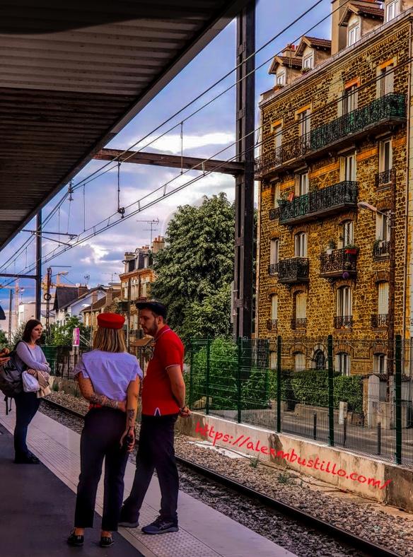 Gare de Juvisy Quai RER-D