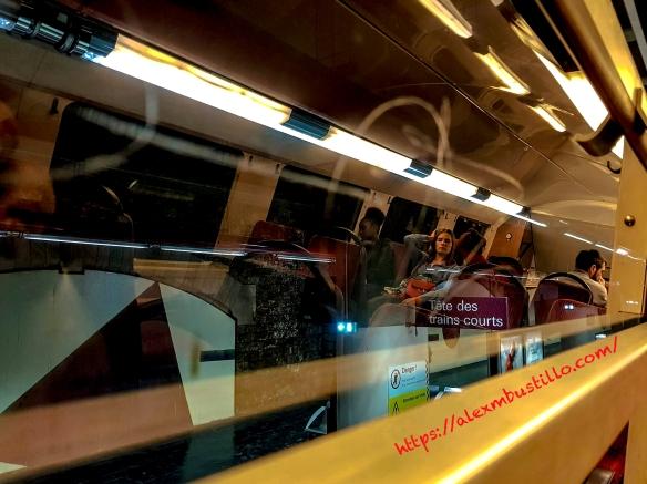 RER-C Entre Quai et Fenêtre