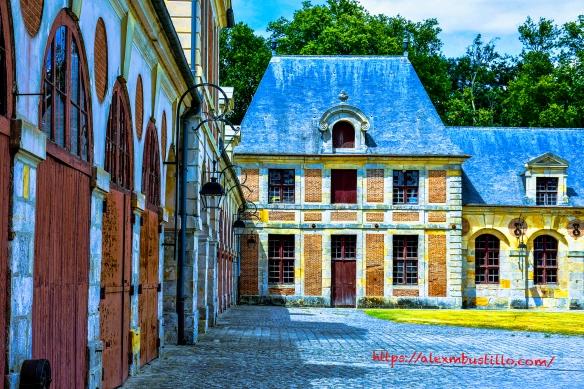 Château de Vaux le Vicomte Landscape, Maincy, France