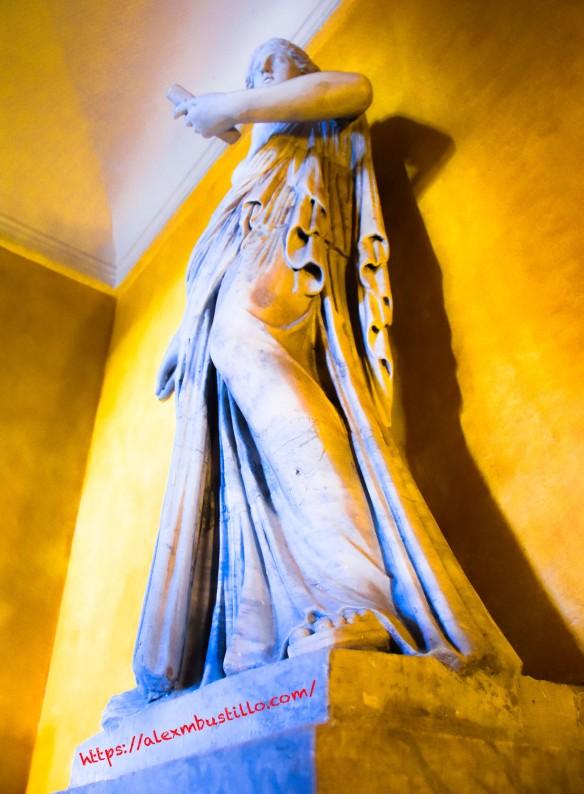 Corridor Statue at Château de Vaux le Vicomte