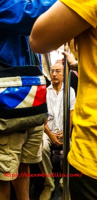 Framed in the Paris Metro