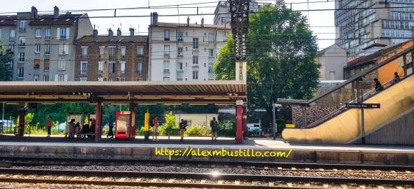 Quai, Gare du Choisy-le-Roi