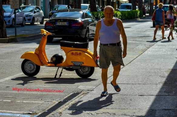 Caorle Moped Stroll, Caorle, Venice, Veneto, Italy