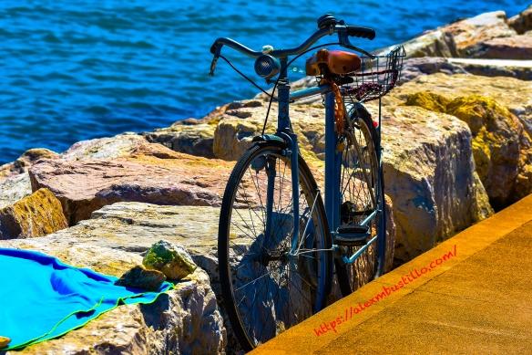Caorle Pier Bike, Caorle, Venice, Veneto, Italy