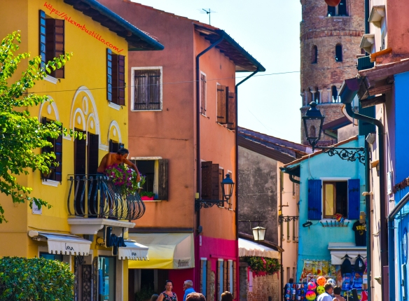 Caorle Porch, Caorle, Venice, Veneto, Italy