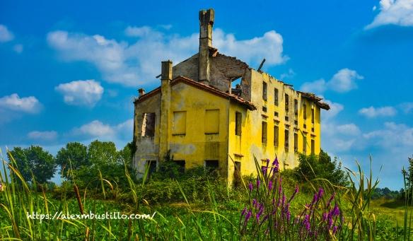 Ruins, Cinto Caomaggiore, Venice, Veneto, Italy