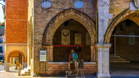 Pordenone City Hall, Friuli-Venezia Giulia, Italia