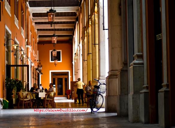 Café Terrace, Treviso, Italy