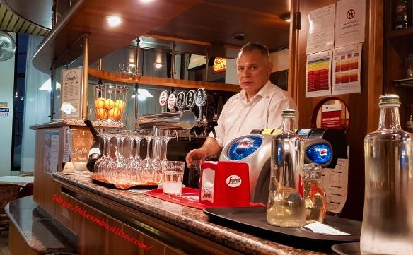 Barista à Ristorante Al Panfilo, Caorle, Venice, Italy