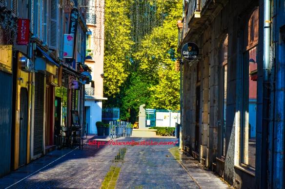 Grenoble France Street