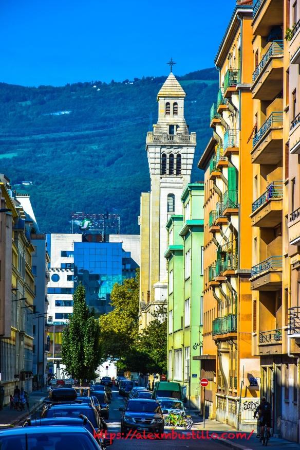 Grenoble France Tower