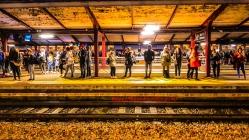 Gare RER Juvisy Tôt Le Matin