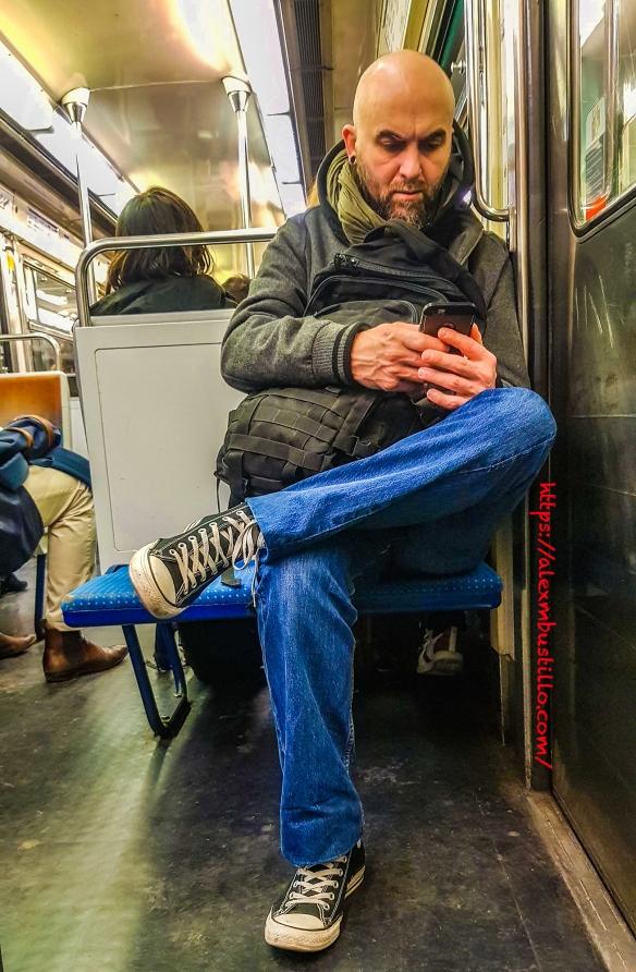 Portrait:  RATP Metro Ligne 12