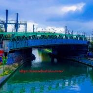 Bridge, Gare St Denis, Paris, FRANCE