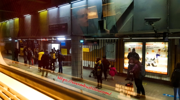 Gare de Saint-Michel Notre-Dame, Paris, France
