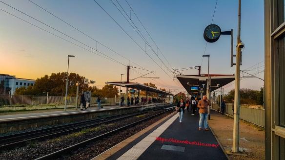 Gennevilliers Gare RER C 12 Nov 2019 1716 Heures