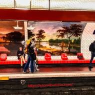Metro Madeleine, Ligne 10 Paris RATP