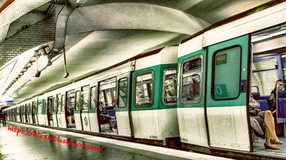 RATP Metro Station Paris France