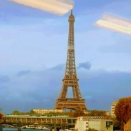 Tour Eiffel Stroll, Paris, FRANCE