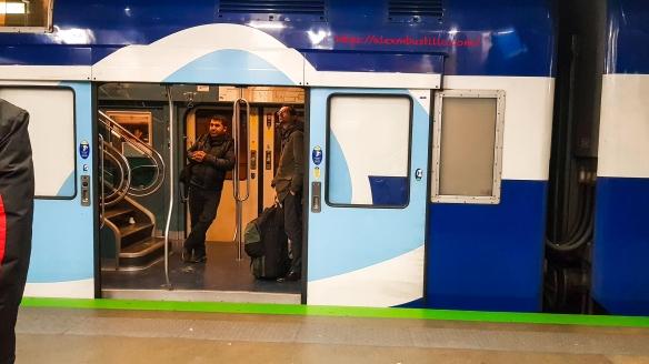 Gare du Nord Landscape Train