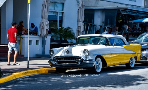 South Beach Vintage Oldsmobile