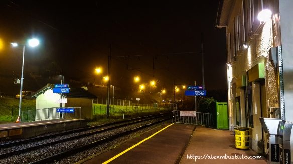 Winter Morning, Gare de Moulin Galant, Corbeil-Essonnes, France