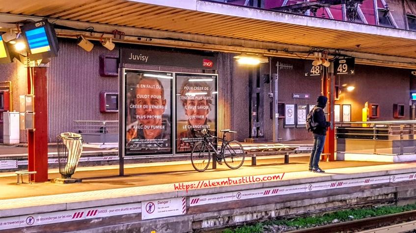 Juvisy SNCF Quai 48 Quai 49 Fév 18, 2020