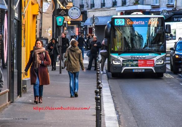 Paris RATP Bus 69 Gambetta-Japon