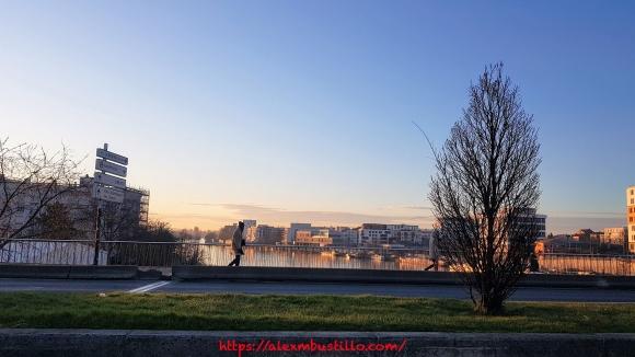 Le Seine à Choisy-le-Roi, FRANCE